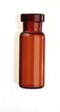 Amber Glass 12 x 32mm Crimp Vial, 2 mL Volume, 100/pkg;