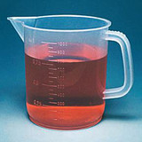 Fisherbrand(TM) Low-Form Polypropylene Beakers with Handles