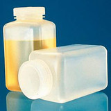 Thermo Scientific(TM) Nalgene(TM) Square Wide-Mouth PPCO Bottles with Closure