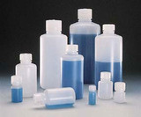 Thermo Scientific(TM) Nalgene(TM) Narrow-Mouth HDPE Lab Quality Bottles with Closure