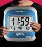 Fisher Scientific(TM) Traceable(TM) Clock/Thermometer/Calendar