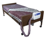 Drive Medical Med Aire Alternating Pressure Mattress Replacement System With Low Air Loss