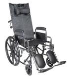 Drive Medical Silver Sport Wheelchair