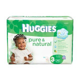 Kimberly- Clark Huggies® Pure & Natural Disposable Diapers