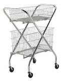 Lakeside Multi- Purpose Carts With Wire Baskets