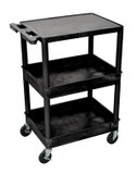 Luxor 3 Shelf Tub Cart