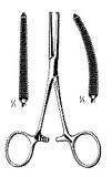 Miltex Kocher Hemostatic Forceps