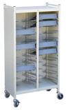 Omnimed Beam® Omnicart® Cabinet Style Flat Storage Racks