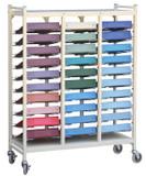 Omnimed Beam® Omnicart® Flat Storage Racks
