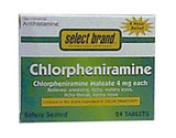 Saj Select Brand Antihistamines