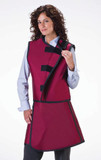 Wolf X- Ray Wrap Around Apron & Vest