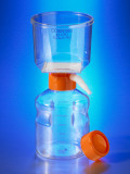 Corning® 250 mL Vacuum Filter/Storage Bottle System, 0.22 µm Pore 19.6cm² CA Membrane, Sterile, 12/Case