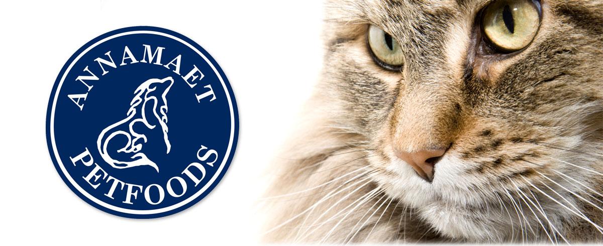 Annamaet Cat Food Banner