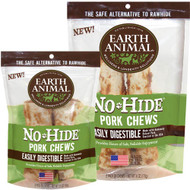 Earth Animal No Hide Pork Chew 2 Pack