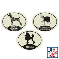 Dog Breed European Style Auto Decal