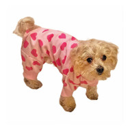 Fashion Pet Heart Fleece PJs