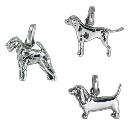 c3201b443 Fine Arf Goldilocks Sterling Silver Dog Charms