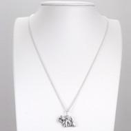 Fine Arf Sterling Silver Necklace with Goldilocks Dog Charm