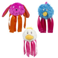 HuggleHounds Spring Pop Up Seat Belt Buddies Toy