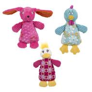 HuggleHounds Spring Pop Up Chubbie Buddie Toy