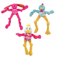 HuggleHounds Spring Pop Up Long and Lanky Buddie Toy
