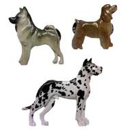 George Harris Hand Painted Dog Breed Pins