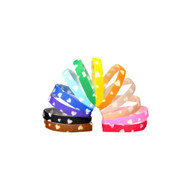 Wagging Tailz Puppy ID Bands Hearts - 12 Packs
