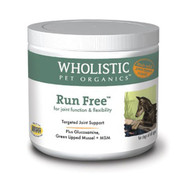 Wholistic Pet Run Free with Green Lipped Mussel