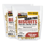 K9 Granola Factory Grain Free Simply Biscuits Peanut Butter 1lb