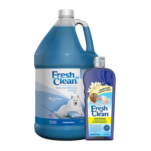 Fresh 'n Clean Snowy Coat Whitening Shampoo