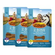 Zukes Z-Bones Carrot Dog Treats
