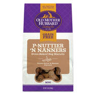 Old Mother Hubbard Grain Free Mini P-Nuttier N' Nanners Biscuits 16oz