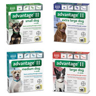 K9 Advantage II for Dogs - 4 month supply