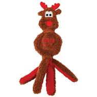 KONG Holiday Wubba Flatz Reindeer