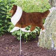 Michael Park Dog Breed Garden Stake