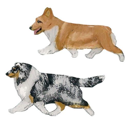 Dog in Gait Pins