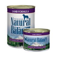 Natural Balance Lamb and Rice CASE