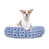 Canada Pooch Birch Bed in Periwinkle Blue