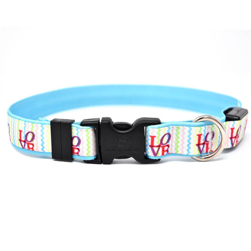 Yellow Dog Design Love Orion LED Collar