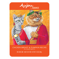 Rawz Aujou Cat Shredded Chicken Breast & Pumpkin Pouches