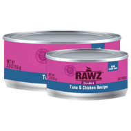 Rawz Shredded Tuna & Chicken Cat Food