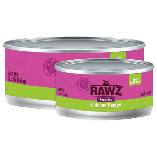 Rawz Shredded Chicken Cat Food