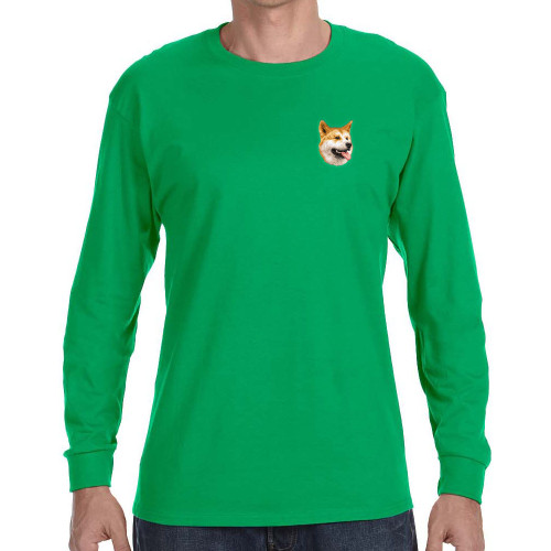 Bird Dawg Embroidered Gildan Long Sleeve Mens T-Shirts
