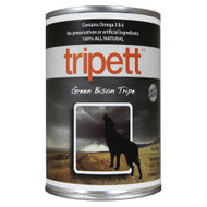 Tripett Green Bison Tripe 13oz