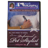 Carding and Handstripping for Pets DVD by Jodi Murphy