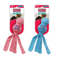 KONG Puppy Wubba in Pink or Blue