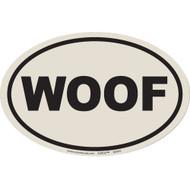 European Style Woof Car Magnet