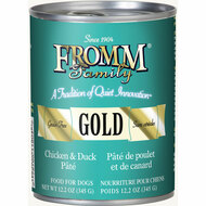 Fromm Gold Chicken and Duck Pate Canned Dog Food Case