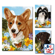 Summer Flowers Breed Flags