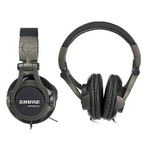 Shure SRH550DJ Professional Quality DJ Headphones - Lynns Corp. 8788d07ab1ce
